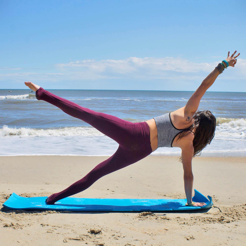 Pilates Aero Cushioned Yoga/Exercise Mat
