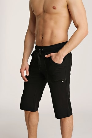 4-rth Men's Organic Yoga Shorts