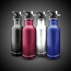 600ML (20OZ) Tinted Stainless Steel Bottles