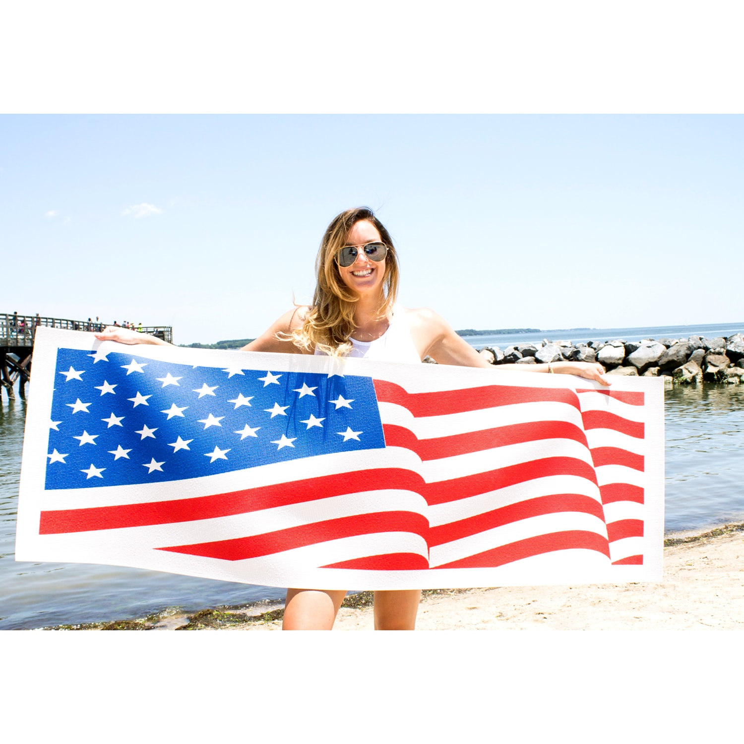 Yoga Direct American Flag Yoga Mat
