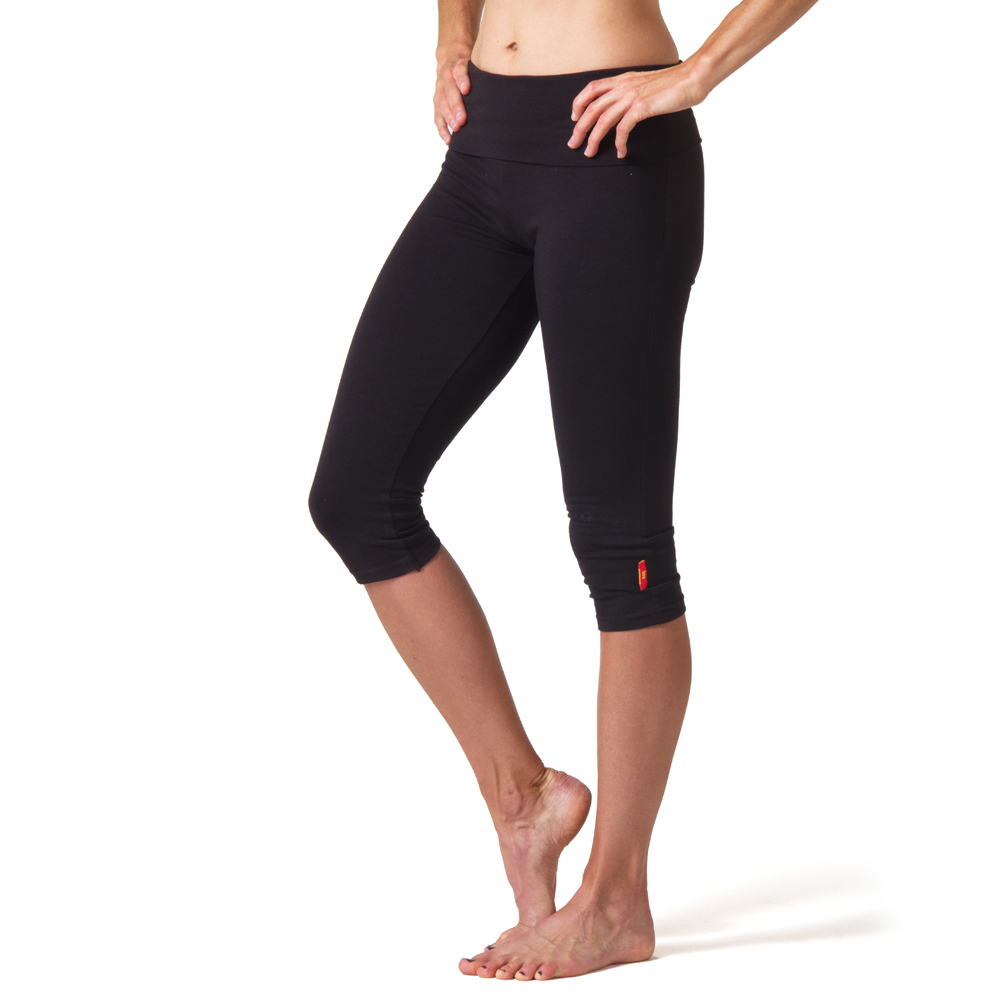 Beckons Organic Love Capri Leggings