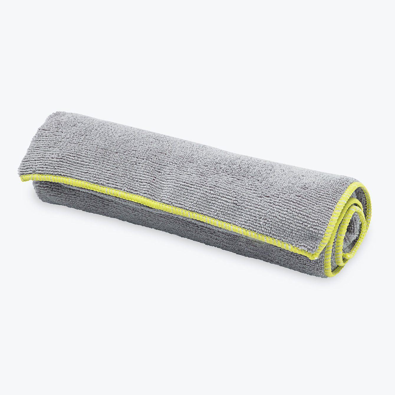 Gaiam Thirsty Yoga Hand Towel Gray/Citron
