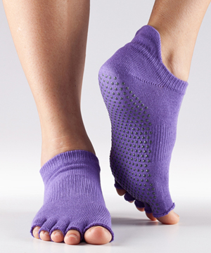 ToeSox Half Toe Low Rise Grip Socks