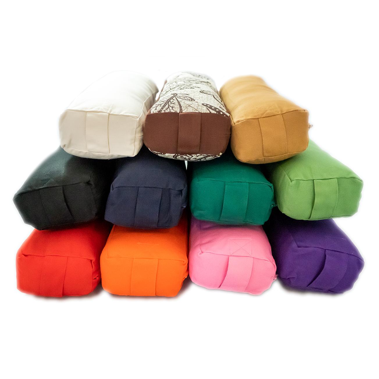 Pranayama Cotton Yoga Bolster Yoga Direct