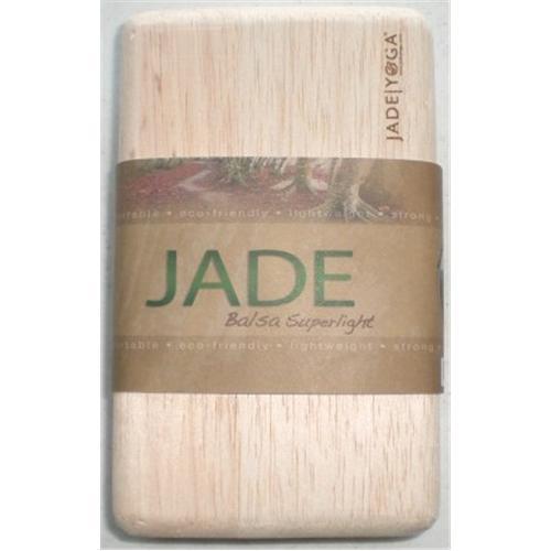 Jade Yoga Balsa Stability Yoga Block – Natural