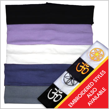 Yoga Headbands (set of 4 pieces) – Mixed