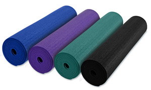 Anti-Microbial Deluxe 1/4 Inch Yoga Mat