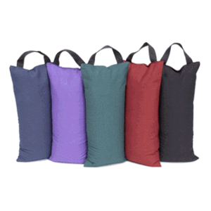 Unfilled Sandbag for Yoga and Pilates - Red