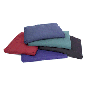 100% Cotton Zabuton Meditation Cushion - Green