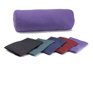 Cover for Round Yoga Bolster - Green