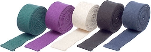 10′ Cotton Yoga Strap without a Buckle – Black