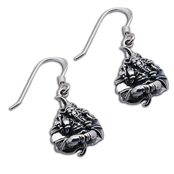 Ganesh Bodhi Leaf Earrings