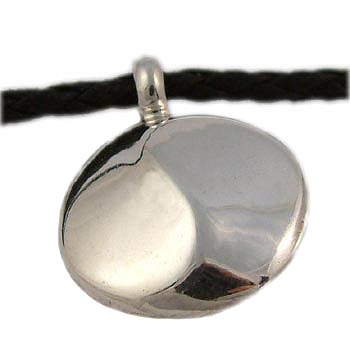 Classic Flowing Yin Yang Pendant in Sterling Silver