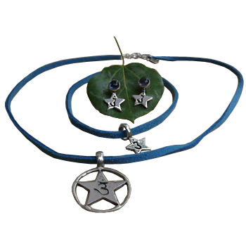 Intuition Forehead Chakra Jewelry Set - 17
