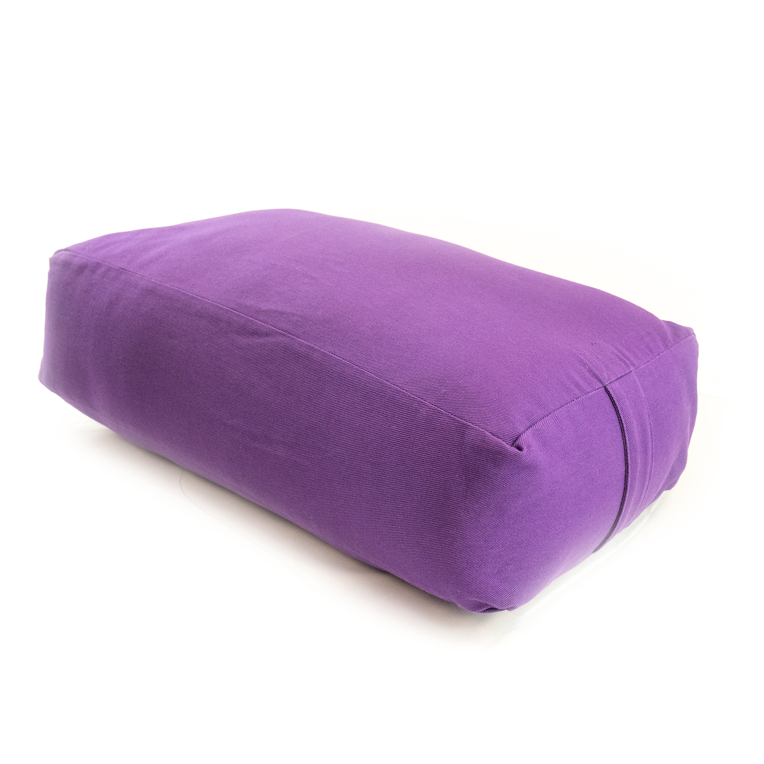 MaxSupport Deluxe Rectangular Cotton Yoga Bolster