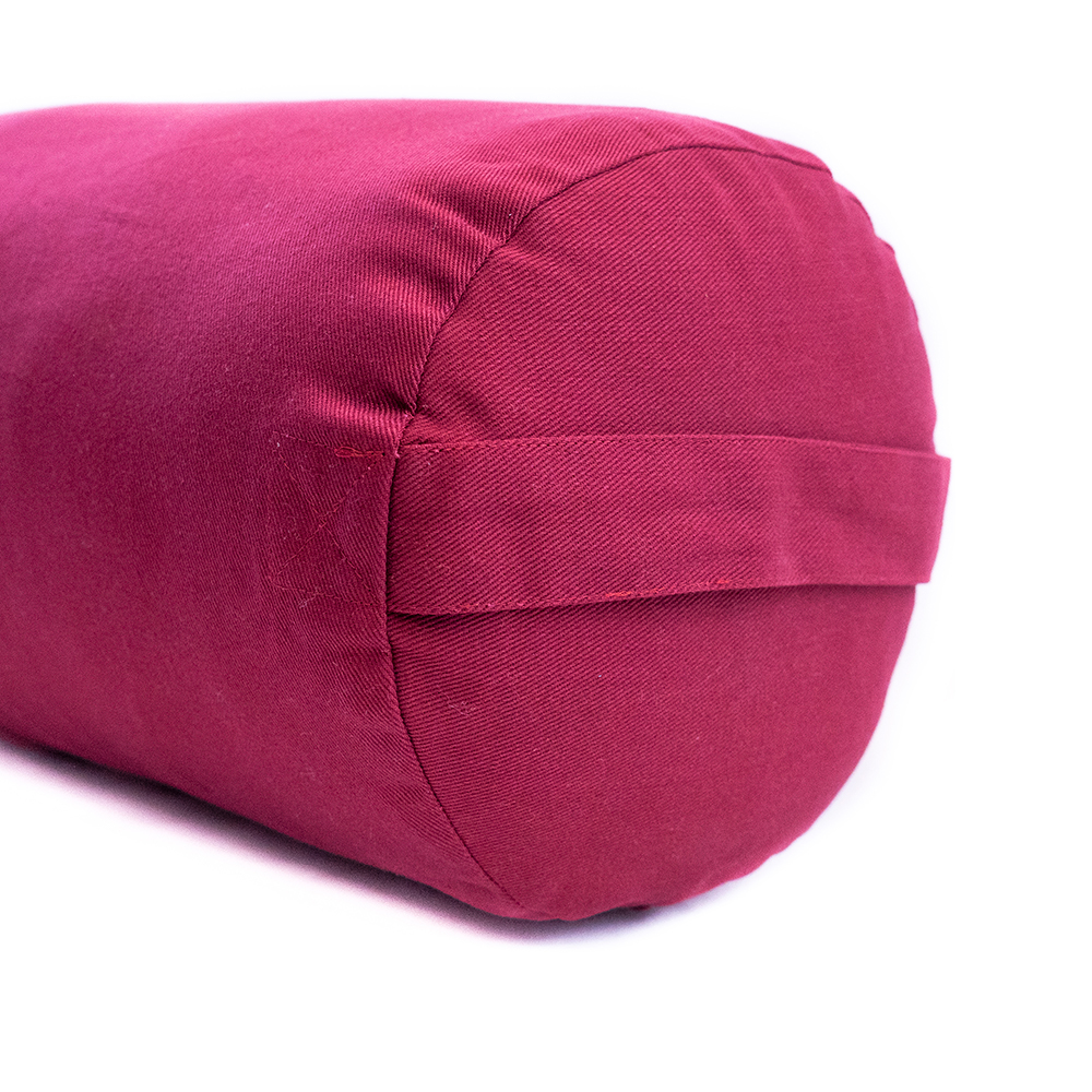 c3a3936169 Supportive Round Cotton Yoga Bolster  Yoga Direct
