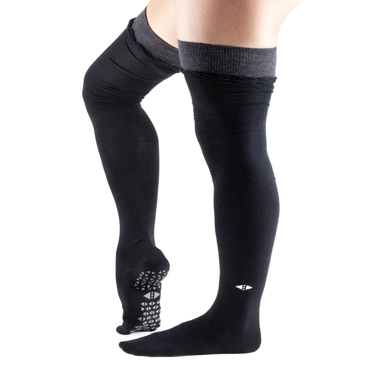 Tavi Noir Johnny Over the Knee High Grip Socks