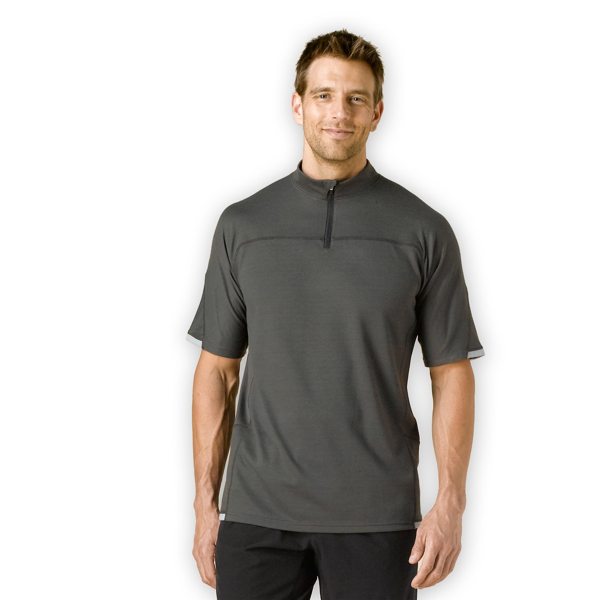 prAna Vertigo Mock Neck Zip