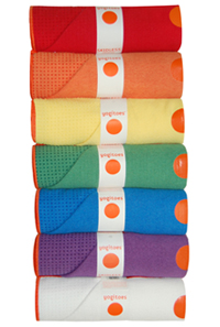 Yogitoes SKIDLESS Mat Size Yoga Towel - Yellow