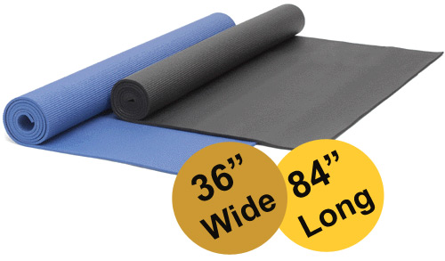 Yoga Direct Extra Long and Wide Yoga Mat (36