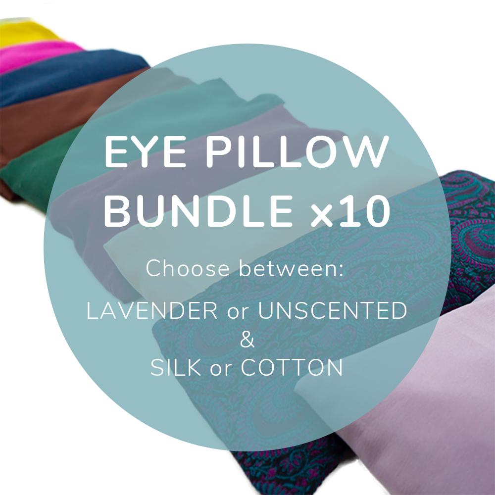 Eye Pillow Bundle X 10 Yoga Direct