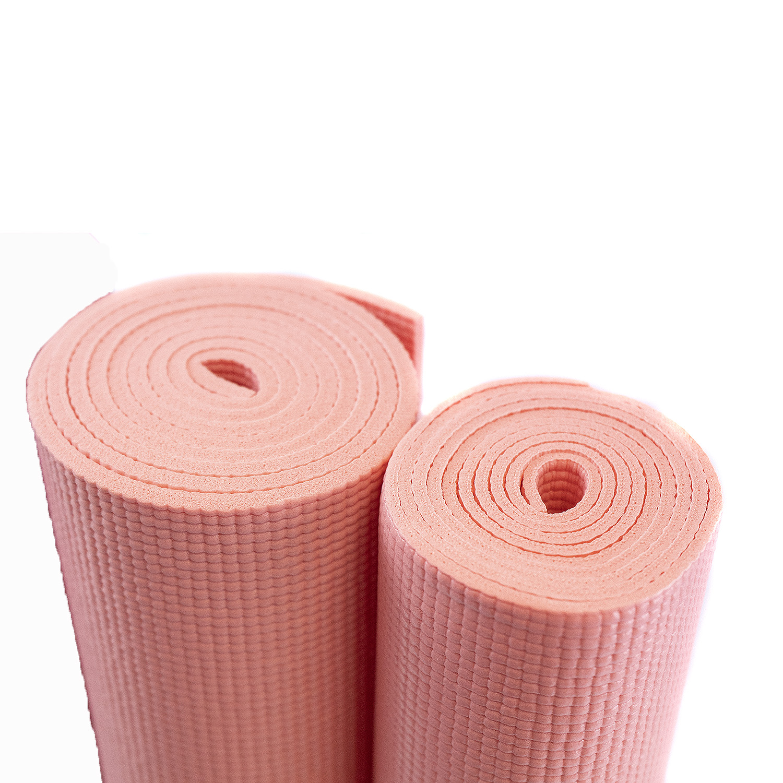 1 8 Inch Yoga Mat 24 Quot X 68 Quot Yoga Direct