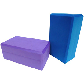 "5"" Big Foam Yoga Block – Blue"