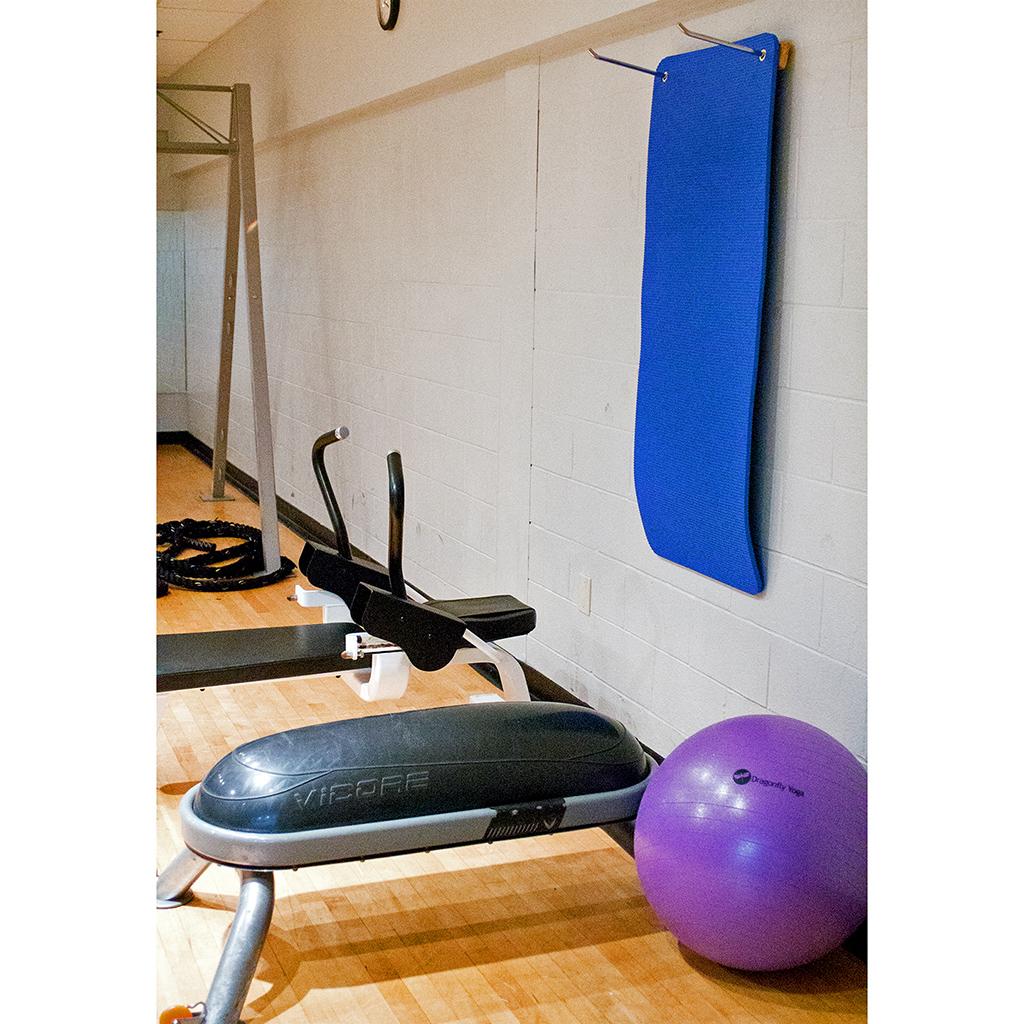 Yoga Direct Adjustable Wooden Mat Hanger