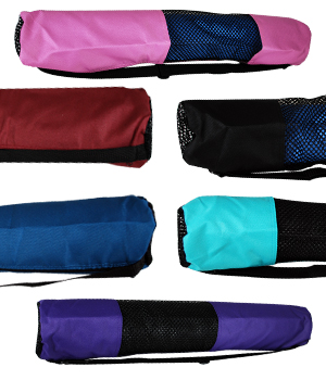 Large Zippered Yoga Mat Bag