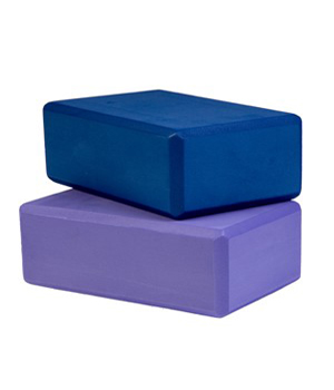 Foam Yoga Block 3″ X 6″ X 9″ – Blue