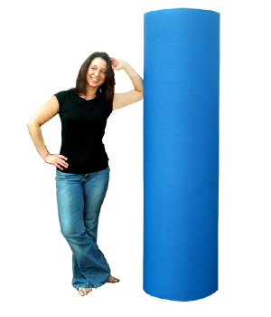 Giant 6-Ft Yoga Mat Roll - 6' X 102.69'
