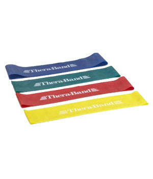 Thera Band Resistance Band Loops - Green