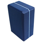 Striped Foam Yoga Block 4X6X9