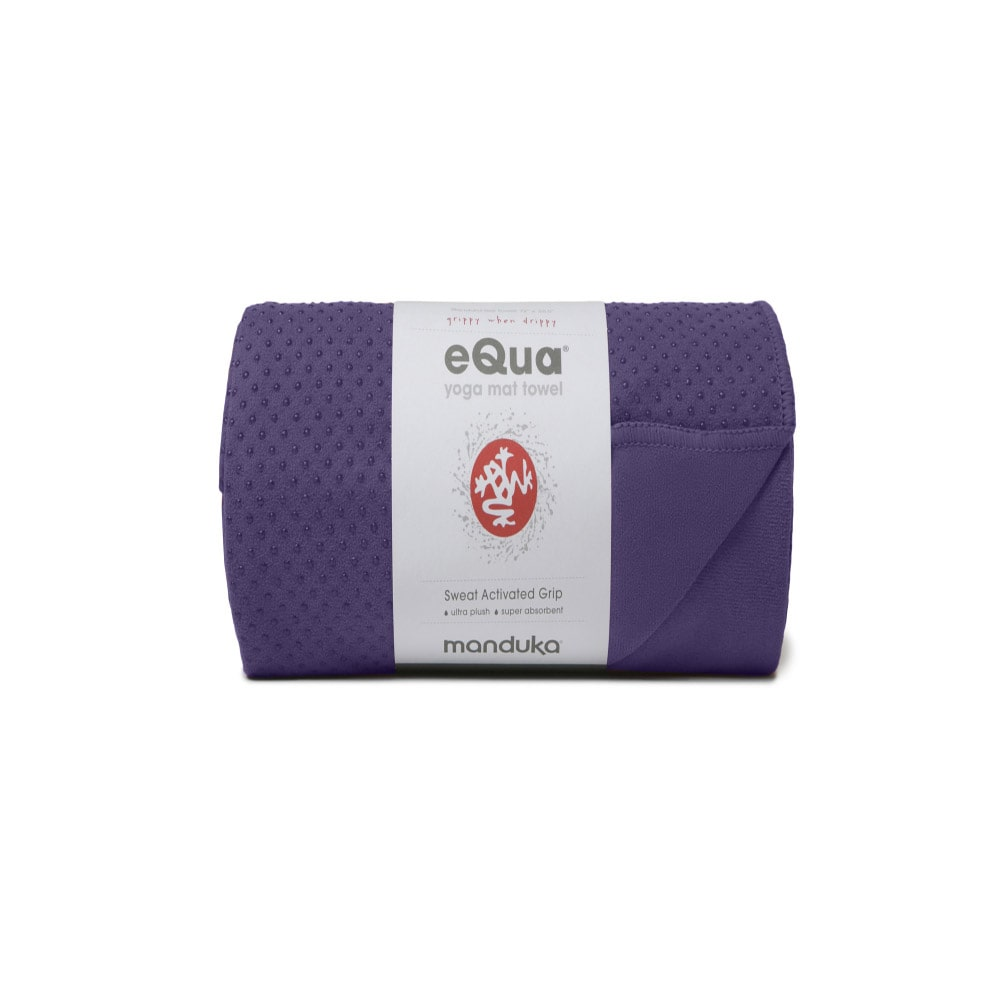 eQua (Extra Long) Mat Towel by Manduka - Gray