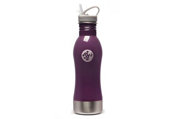 25oz. Stainless Steel Water Bottle by Manduka