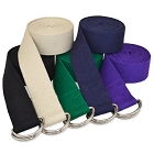 6 Ft D-Ring Yoga Strap