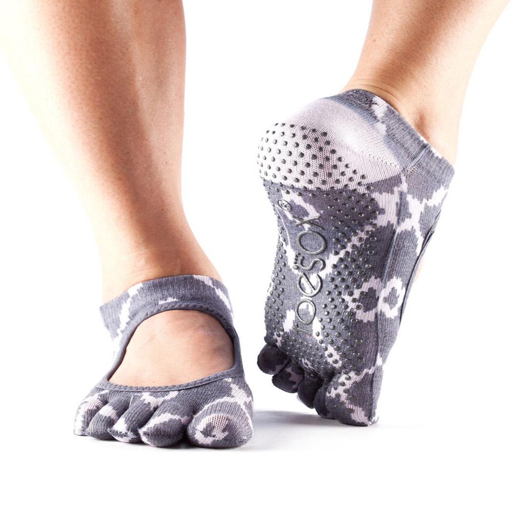 Toesox Full Toe Bella Grip Socks Yoga Direct