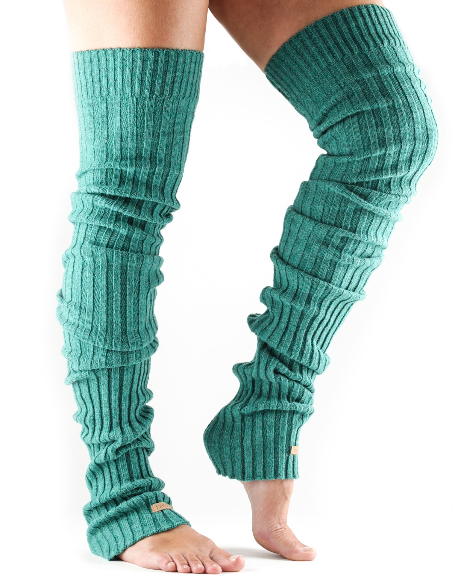 0e0f6cbe2 ToeSox Leg Warmers. Thigh High Coral