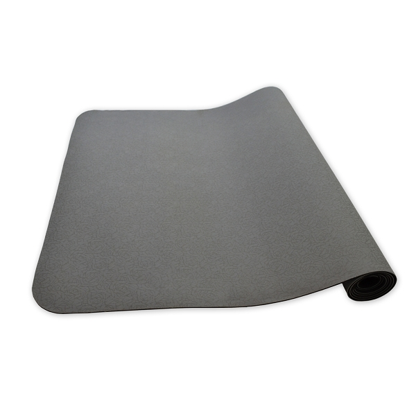Eco Yoga Mat – Gray or Black – Black