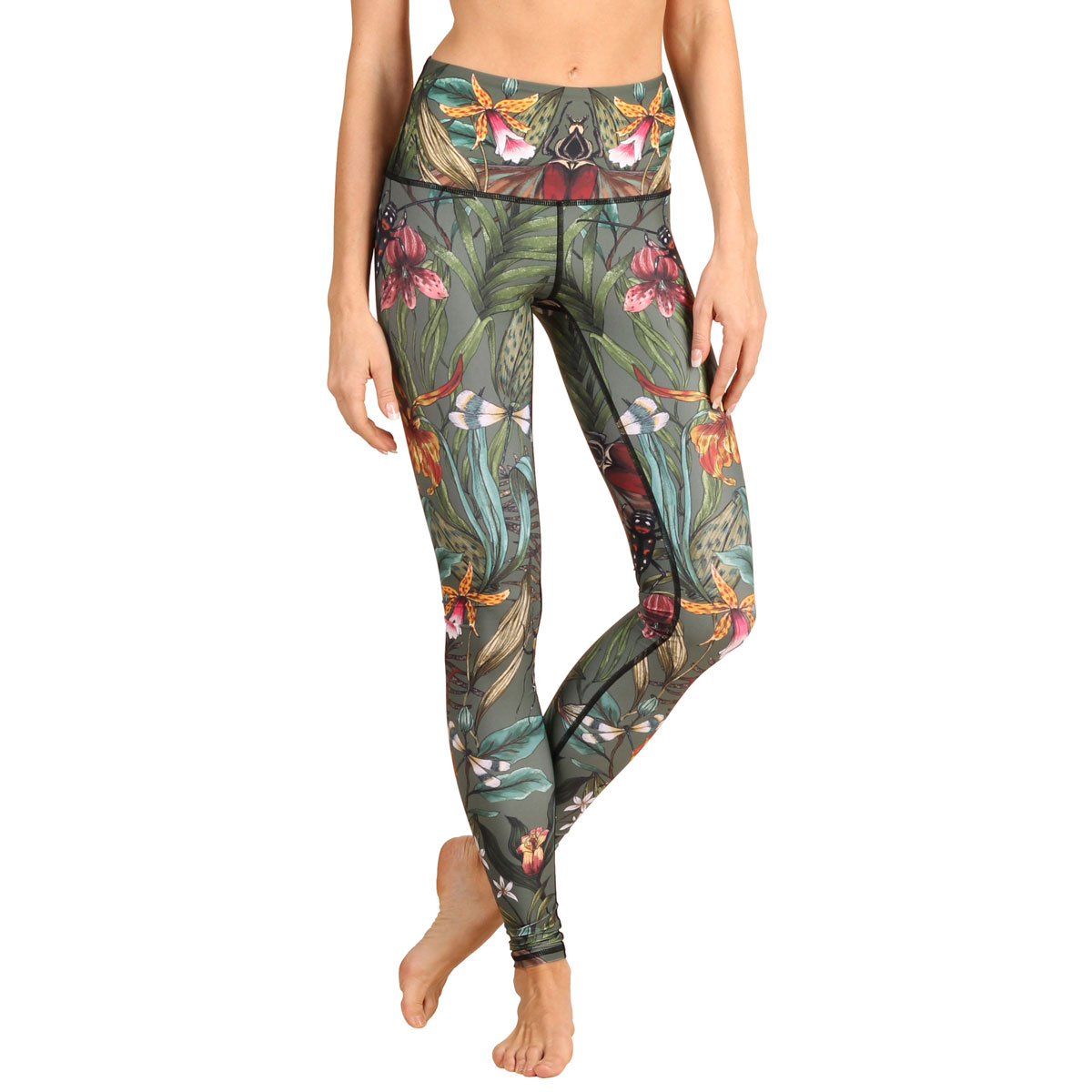 Yoga Democracy Green Thumb Yoga Legging