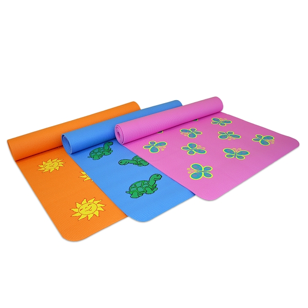 Fun Yoga Mat For Kids – Orange