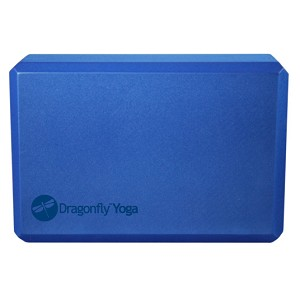 "Dragonfly 4"" Foam Yoga Block"