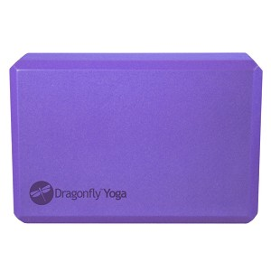 "Dragonfly 3"" Foam Yoga Block"
