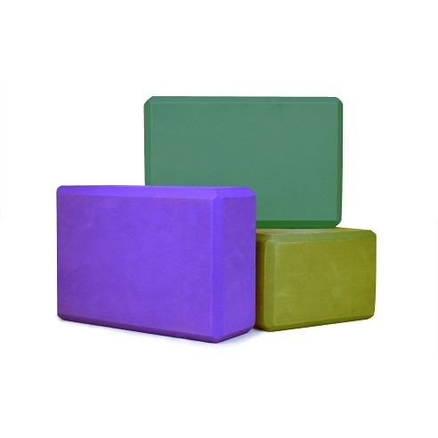 "Foam Yoga Block 4"" X 6"" X 9"""