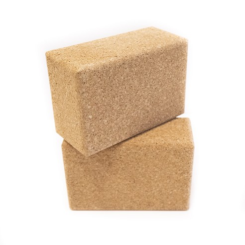 "4"" Cork Yoga Block"