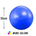 55cm Anti Burst Deluxe Yoga Ball