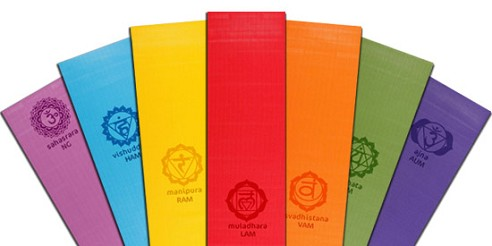 Yoga Direct Chakra Yoga Mat