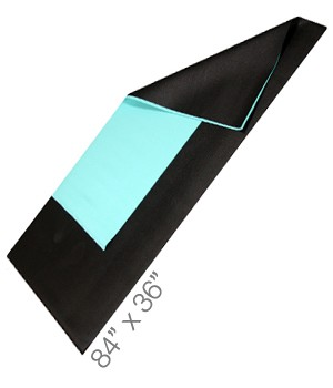"Yoga Direct Extra Long and Wide Yoga Mat (36"" x 84"" X 1/4"")"