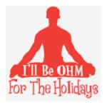 Ohm for the Holidays t-shirt