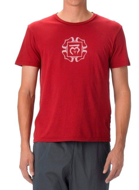 Mens Tee Chakra by be present
